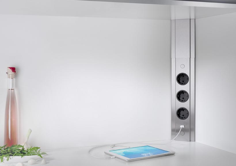 Eck-Steckdosen-Element TOLME - Sabel Küchen mit Leidenschaft in ...